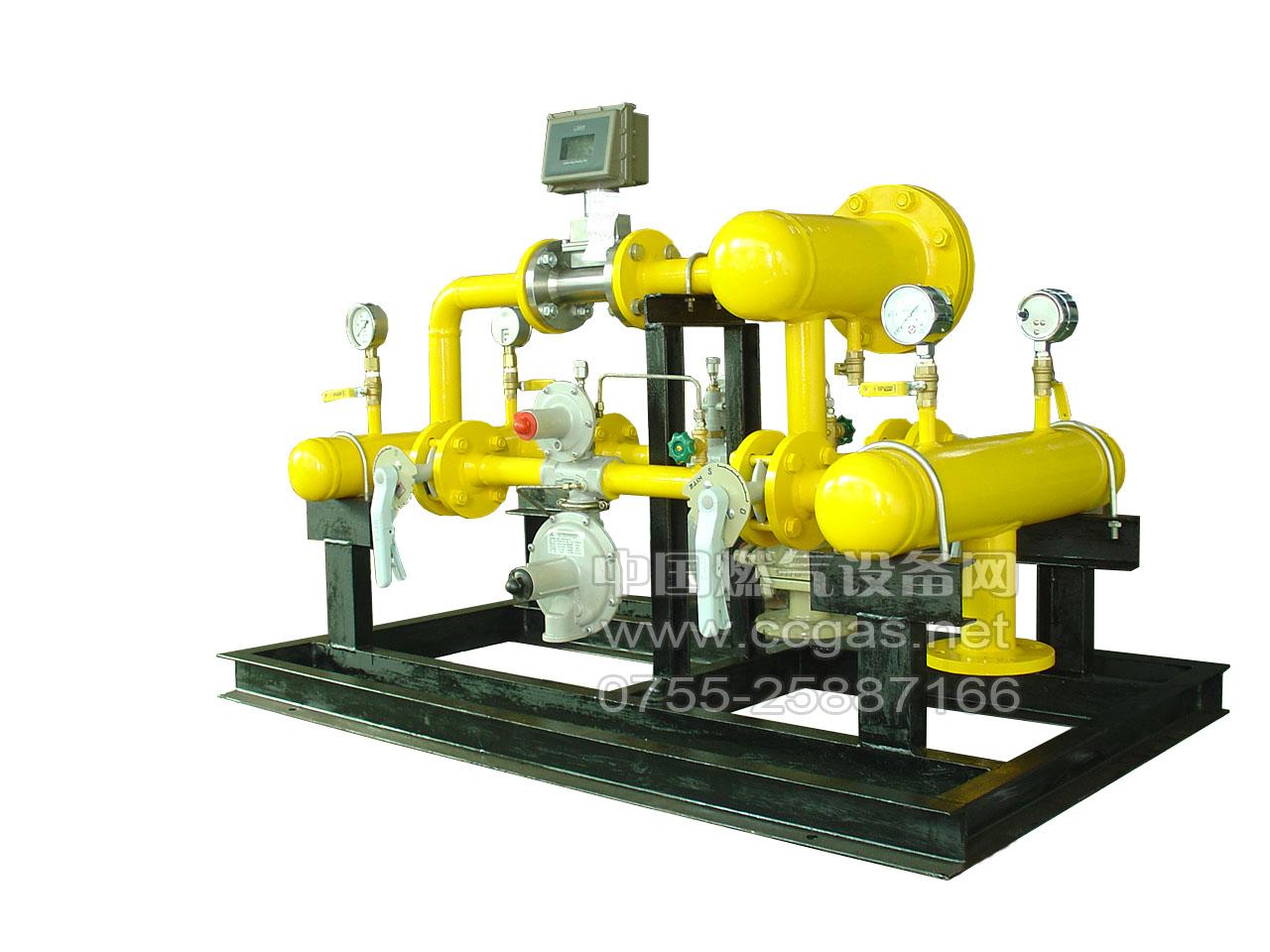 新疆工业用天然气调压计量柜