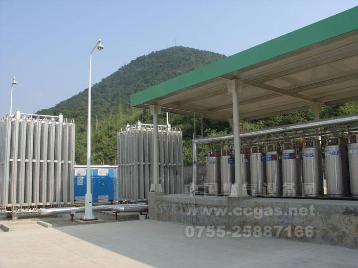 LNG瓶组气化站
