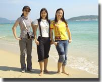 08年公司员工欢乐海南游