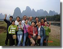 05年公司员工桂林游