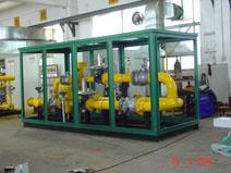 为惠州城燃生产的大型调压撬。