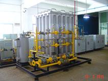 为工业单位开发的小型LNG气化调压撬